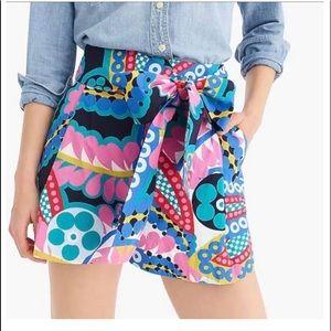 J Crew Tie Waist Shorts